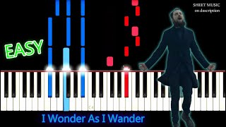 Simon Khorolskiy - I Wonder As I Wander | Piano Tutorial (FREE PDF)