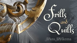 Frills and Quills - baroque dancing music by HANS HYLKEMA