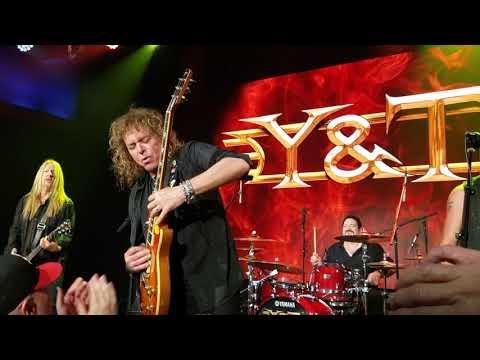 Tigman - Y&T Set to Rock The Chance Saturday