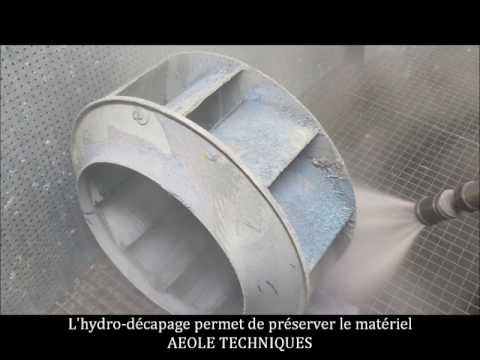 Décapage turbine