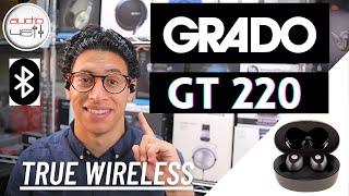 Grado GT 220 True Wireless Earbud Unboxing + Review