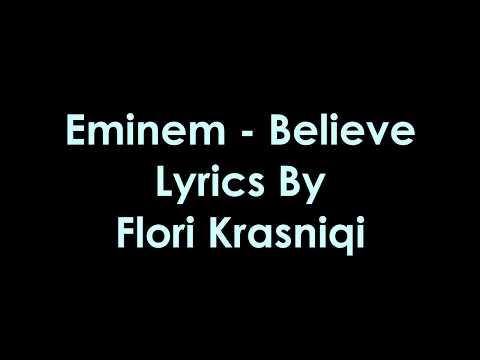 Eminem - Believe [Lyrics]