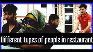 TYPES OF PEOPLE IN RESTAURANT   FAP TV