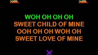Guns N' Roses - Sweet Child O' Mine KARAOKE