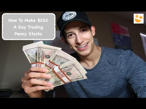 Making +$250 A Day Trading Penny Stocks: How To Trade: $CEI & LPCN | Episode 16