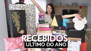 RECEBIDÃO! Último Recebidos de 2017 | Lia Camargo