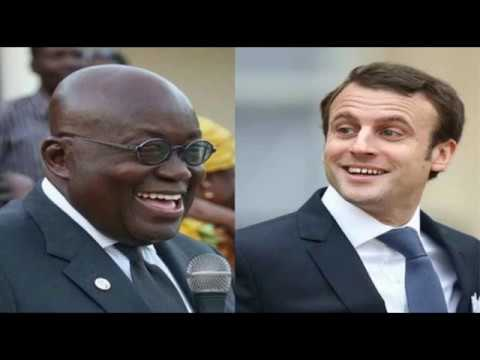 Breaking News:French President Macron Heads To Ghana On His African Tour