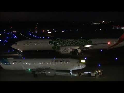 Boeing 777 Emirates op DUS