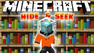СРЕДИ КНИЖНЫХ ПОЛОК [Minecraft Hide And Seek Mini-Game]
