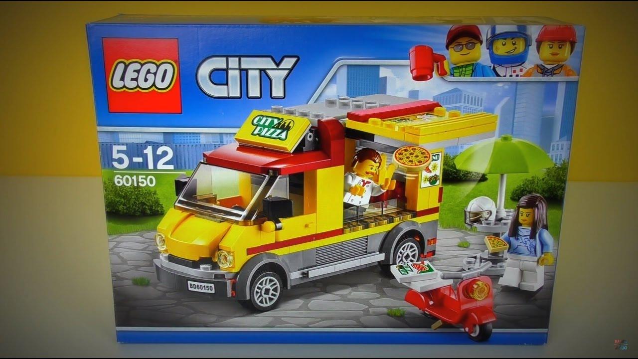 Lego City Foodtruck Z Pizzą Recenzja Youtube