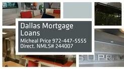 Micheal Price - Loan Officer - Dallas TX- Dallas Refinance