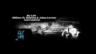 50 Cent - My Life ft. Eminem, Adam Levine ( Instrumental )