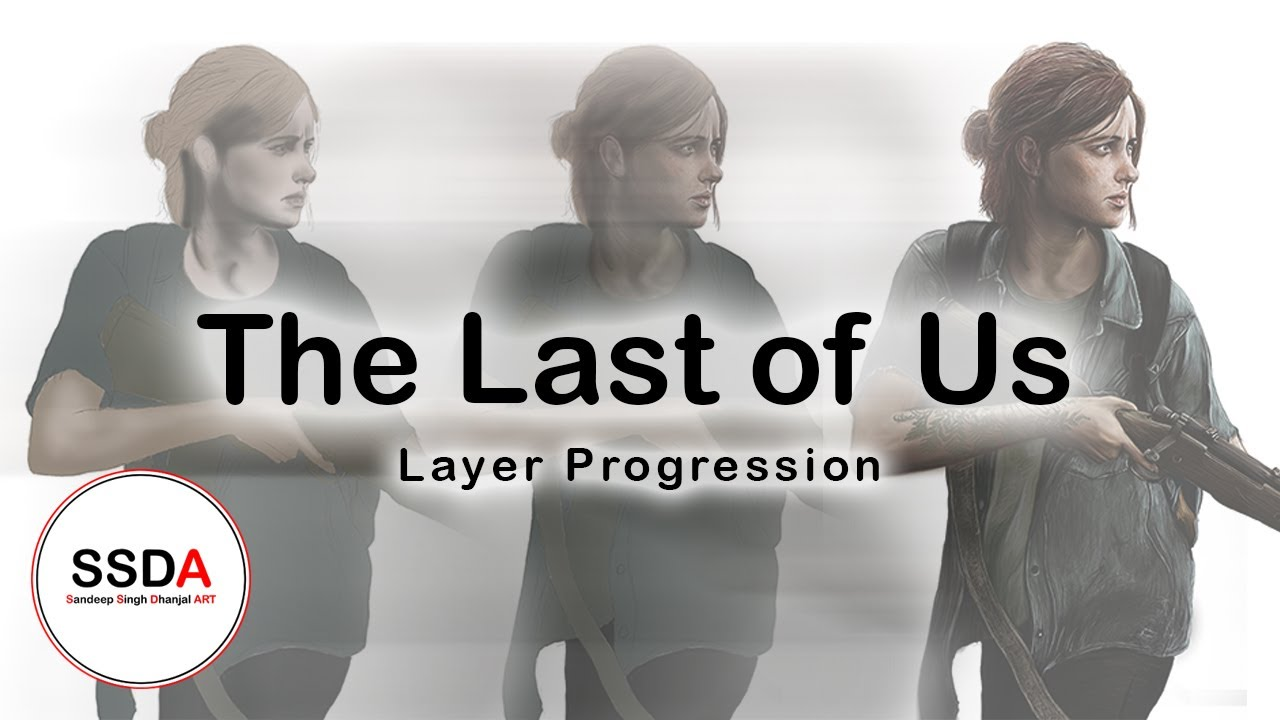 The Last of Us (part 2) Digital Drawing.
