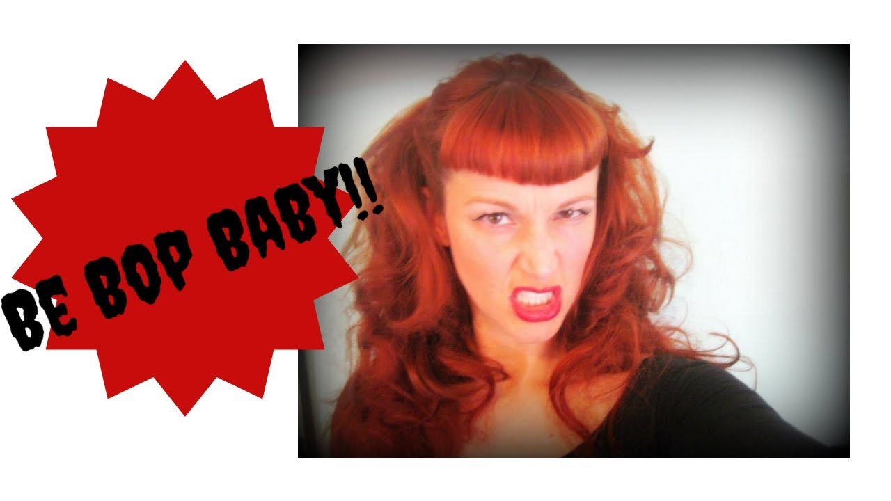 Hair Style Videos Youtube: 'BeBop Baby'!- Wanda From CryBaby Hairstyle-Using Hot