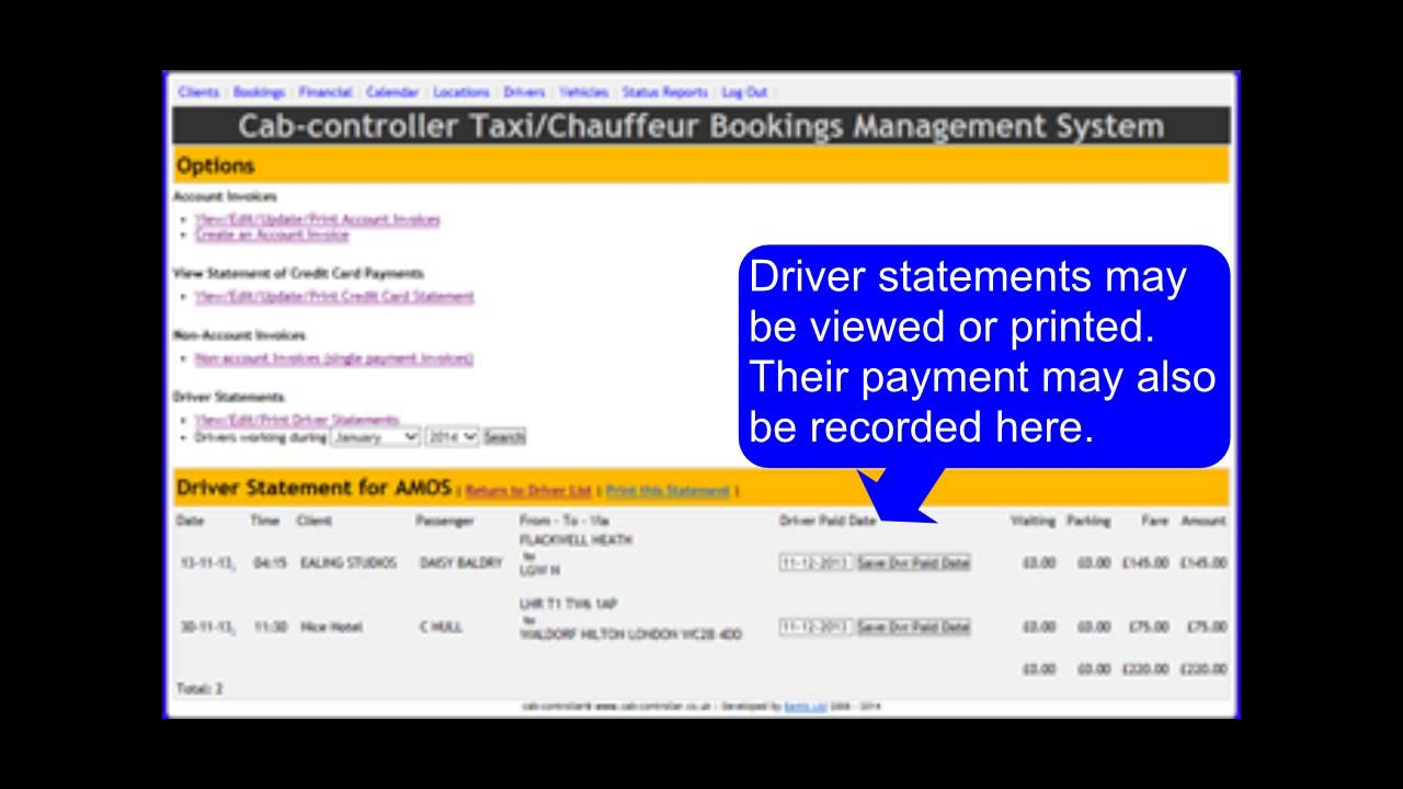 report of cab booking system This document provides information about the taxi service project,  it allows the  customer to book a taxi from a web page after registering.