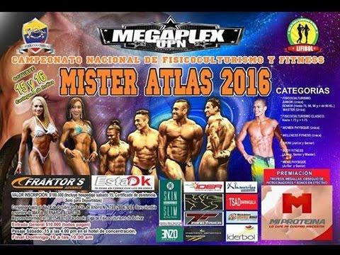Campeonato Open Mr Atlas 2016