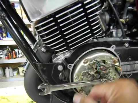 1974 RD350 ignition timing