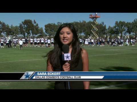 2010 Dallas Cowboys Training Camp  Alan Ball story