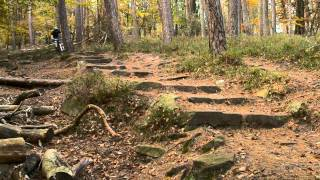 RAW Hardtail mountain biking / Trail ride
