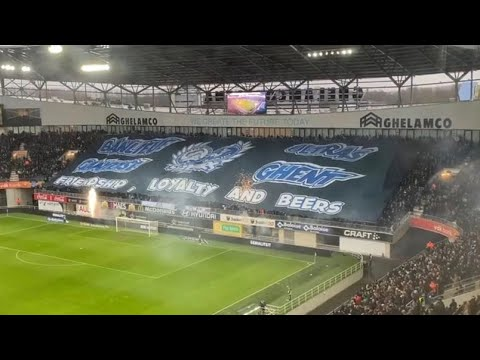 Sfeer KAA Gent - Club Brugge