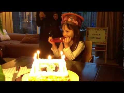 Sarah Ilima Gaby Hoffman's 4th Birthday Celebration