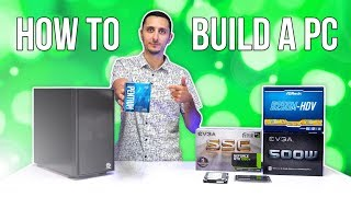 How To Build A Gaming PC with Windows Install (2018) - $450 PC Build