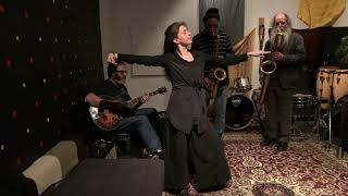 Luisa Muhr, Daniel Carter, Dave Sewelson, Aron Namenwirth - at Aron's Place - Feb 1 2020