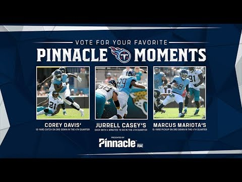 Pinnacle Moment of the Game: Week 3 at Jacksonville
