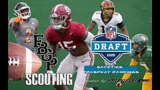 Football Gameplan's 2020 NFL Draft Prospect Rankings: Safeties