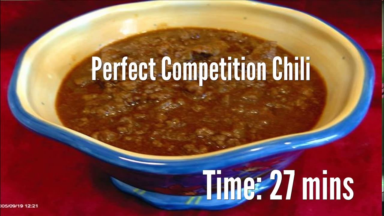 Perfect competition chili recipe youtube perfect competition chili recipe food recipes forumfinder Gallery