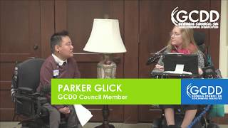 GCDD Advocacy Day Interview with Dawn Alford on NOW/COMP