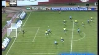 Brasil 3 Uruguay 3 (Relato Sebastian Vignolo) Eliminatorias Alemania 2006 Los goles (19/11/2003)