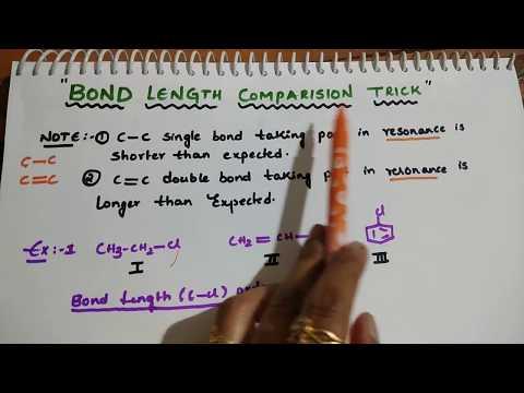 Bond Length Comparison Trick