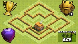 Clash Of Clans Town Hall 5 Hybrid Base Best base