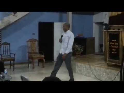 Pastor David Grant ministering part 1 Giant Slayers Conference
