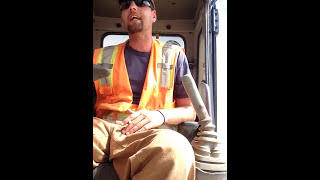 Heavy Equipment Operator talking shit