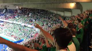 EM 2016 - Will Grigg's on Fire - die Fans von Nordirland