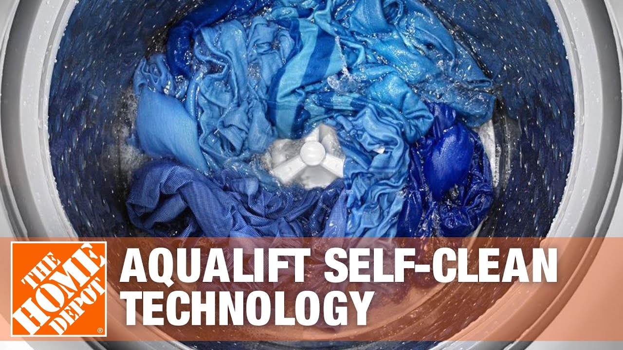 Maytag Aqualift Self Clean Technology