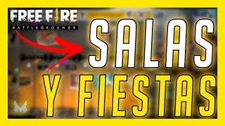 SALAS Y FIESTAS para SUSCRIPTORES - FREE FIRE