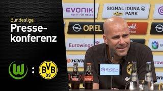 PK mit Peter Bosz vor dem Bundesligastart | VfL Wolfsburg - Borussia Dortmund