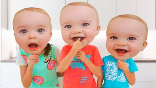 Vlad and Niki - Little Babies Masks Story