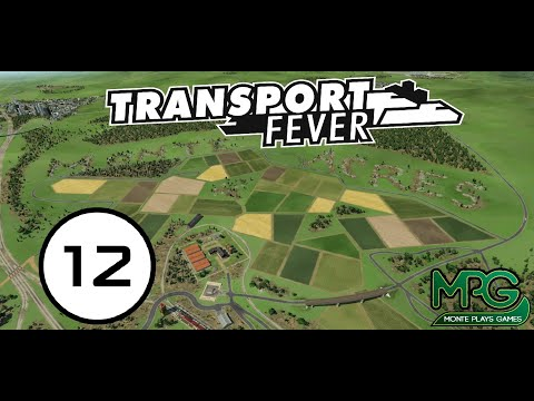Transport Fever (English) Free Play   Monte Acres   12 Machines & Tools 1960s