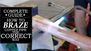 How silver solder (braze) a copper pipe (a/c line repair) | GOT2LEARN