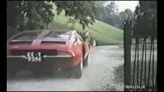 De Tomaso Mangusta & Maserati Mexico - Il Diavolo Nel Cervello 1972 - Maurice Ronet