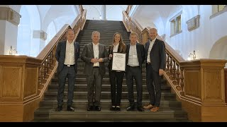 Intech is awarded winner of Danish Exporter of the Year 2020