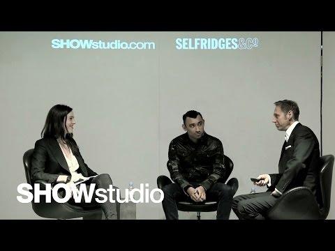 SHOWstudio: In Conversation - Nick Knight / Nicola Formichetti / Lou Stoppard