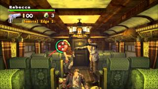 Resident Evil Umbrella Chronicles Gameplay / Chapter 1  Zombie Express
