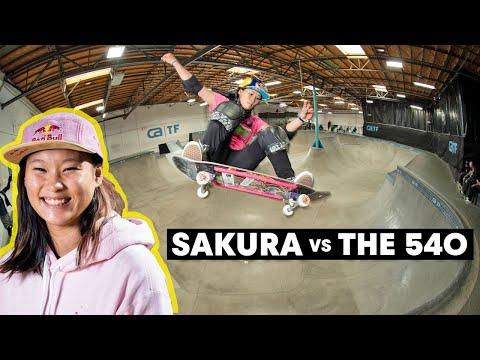 Japanese Skate Hopeful Sakura Yosozumi Lands Her First 540