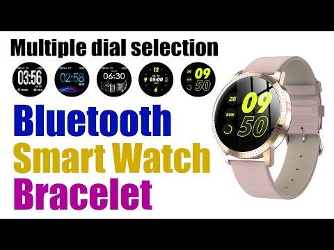 CF18 Bluetooth Smart Watch Bracelet With Multiple Dial Selection