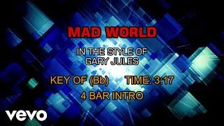 Gary Jules - Mad World (Karaoke)